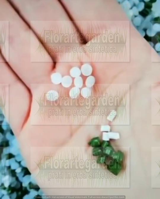 polimeri di erba sintetica